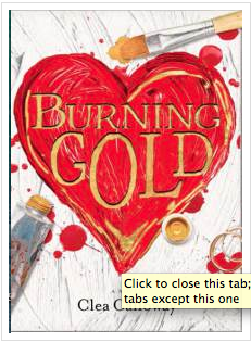 Burning Gold Cover
