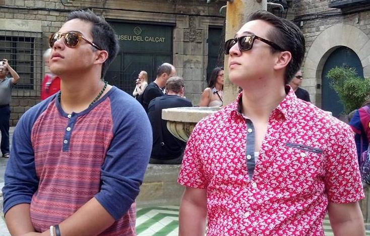 Brothers in BArcelona